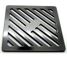 210mm Square Metal steel Gully Grid Heavy Duty Drain Cover likecast ironstronger