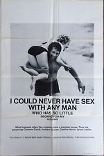 I COULD NEVER HAVE SEX WITH... Sex Comedy Movie Poster w/ Ron Jeremy Autograph