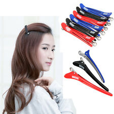 Hairdressing Aluminum Plastic Clips Salon Barber Section Hair Clip 12Pcs Lot