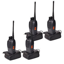 4 Piece Baofeng BF-888S Long Range Walkie Talkie Two-Way Radio Communication