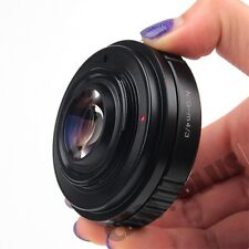 Camera Speed Booster Focal Reducer Adapter For Nikon F Mount G Lens to Micro M43