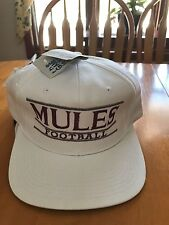 MULES FOOTBALL SNAPBACK HAT NWT THE GAME
