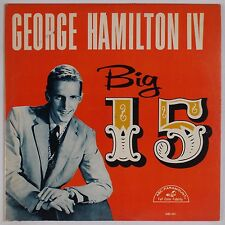GEORGE HAMILTON IV: Big 15 USA ABC Paramount Country VINYL LP VG++