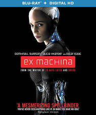 Ex Machina (Blu-ray Disc/Digital HD, 2015) Great Story Free Ship