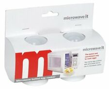 NEW IN PACK MICROWAVE EGG COOK SAVES TIME EGGS MADE EASY NO MESS HANDY GADGET