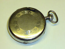 VINTAGE pocket watch Petrol Lighter-Chrome Brused-Accendino in forma orologi