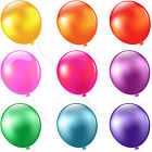 "New Latex Helium Balloons Ballons 100X10"" Party Wedding Birthday Multicolor"