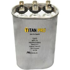 Titan Pro TOCFD455 45+5 MFD 440/370 Volt Oval Run Capacitor