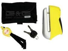 Discos de freno castillo castillo disparador alarma 345 Yellow amarillo security level 8