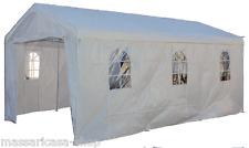 Telo ricambio copertura per auto in metallo , bianco  3 x 6  pe gr 180