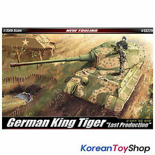 Academy 13229 1/35 Plastic Model Kit German King Tiger Last Production Tank