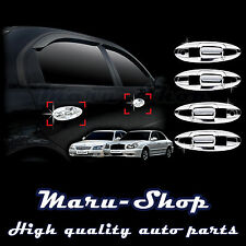 Chrome Door Handle Catch Cover Trim/8pcs for 01~06 Kia Optima/Magentis