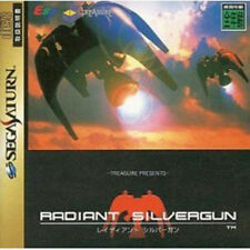 (Used) Sega Saturn Radiant Silvergun [Japan Import]、