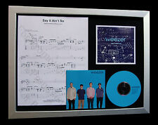 WEEZER Say It Ain't So LTD CD TOP QUALITY FRAMED DISPLAY+EXPRESS GLOBAL SHIPPING