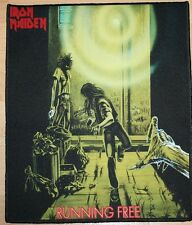 Iron Maiden, Running Free Version 2, Fotodruck Backpatch