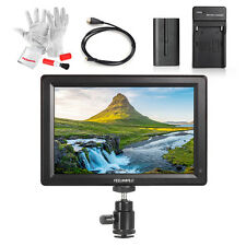 "FEELWORLD 7"" 1920x1200 4K Input/ Output Monitor +Cable +Battery Charger +Battery"