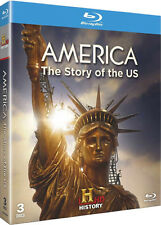America . The Story Of The US .. USA . History Channel . 3 Blu-ray Set . NEU OVP