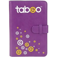 New Purple Tabeo Folio Case & Stand Fits Most Standard Size Tablets Faux Leather