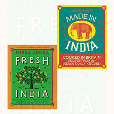 Fresh India and Made in India 2 Books Collection Set By Meera Sodha NEW BRAND HD