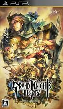 USED PSP Grand Knights History Import Marvelous Japan Import Free Shipping