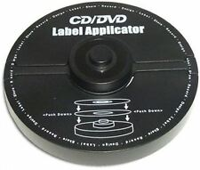 CD/DVD LABEL APPLICATOR - EASY AND HASSLE FREE!