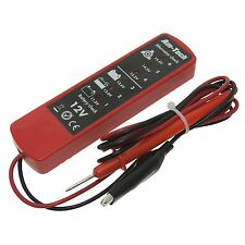 12V Battery Alternator Tester DC Tester Car Truck Garage Test Tool Voltage L4300