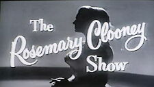 THE ROSEMARY CLOONEY SHOW 33 EPISODES ON DVD