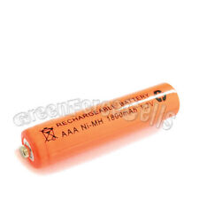 1 pc AAA 1800mAh Ni-MH rechargeable battery cell/RC orange