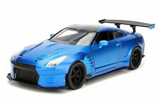 JADA 1:24 DISPLAY FAST & FURIOUS 2009 NISSAN GT-R R35 W BEN SOPRA BODY KIT 98247