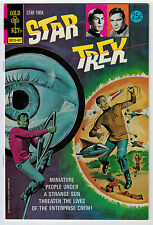 STAR TREK #25 9.0 HIGH GRADE GOLD KEY WHITE PAGES BRONZE AGE