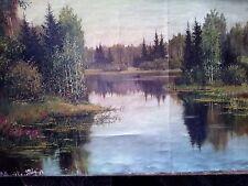 Art oil paint hand made