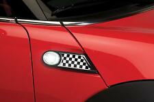 New PUTCO Checkered Flag Side Scuttle Kit / FITS 2007-2012 MINI COOPER