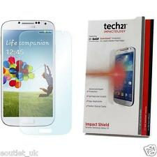 GENUINE Tech21 Impact Shield Screen Protector Samsung Galaxy S4 Self Heal NEW
