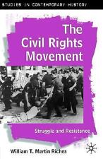 The Civil Rights Movement: Struggle and Resistance (Studies in Contemp-ExLibrary