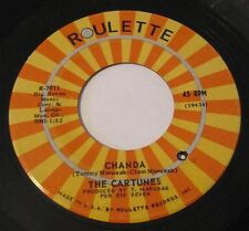 "The CARTUNES ""Keep The Fire Burning / Chanda"" 45 Roulette 7011 Rock Garage Vinyl"