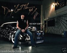 "Danny ""The Count"" Koker Counting Cars TV Show Reprint Signed 8x10"" Photo #2 RP"