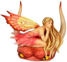 Pink Fae Selina Fenech Fairy  Figurine Munro Gifts Retired