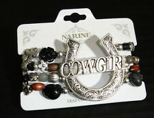 Western Cowgirl Jewelry ~Cowgirl~ Beaded Stretch Bracelet