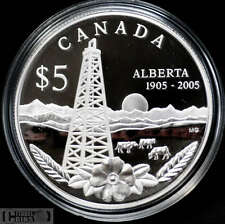 2005 Canada $5 Special Ed. Proof - Alberta's Centennial