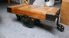 Argo - Industrial Warehouse Cart Coffee Table