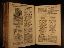 1678 1ed Mattioli HERBAL Illustrated Botany Materia Medica Medicine Dioscorides