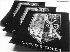 Cursed Records Aufnäher Patch - Austrian extreme metal label since 2011