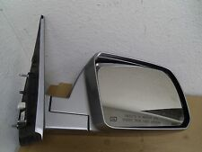 Used 07-13 Genuine Toyota Tundra Passenger RH Power & Heated Door Mirror OEM
