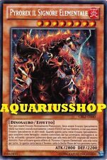Yu-Gi-Oh! Pyrorex il Signore Elementale CBLZ-IT040 ITA the Elemental Lord  Zexal