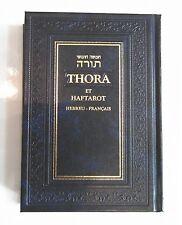 Torah Hebreu - French Français Pentateuque La Bible Hébraique, Chumash Judaisme