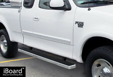 "Premium 4"" iBoard Running Boards Fit 99-03 Ford F-150/F-250 Light Duty Super Cab"