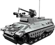 CUSTOM building INSTRUCTION Marder IFV MILAN MISSILE to build out of LEGO® parts