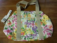 NWT Hawaii Lesportsac Exclusive Anna Nohea Flower Print  Bag Purse