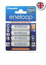 Panasonic eneloop 5th Generation AA (4 Pack) BK-3MCC NiMH Rechargeable Batteries
