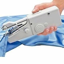 Portable Home Travel Desk Sew Quick Hand-held Stitch Clothes Mini Sewing Machine